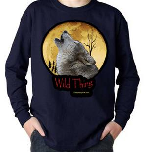 Designed for the Wild Child that loves Wolves.