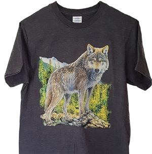 Handsome Wolf on this new t shirt.