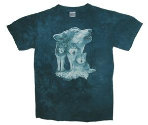 Beautiful large graphic on this Wolf shirt