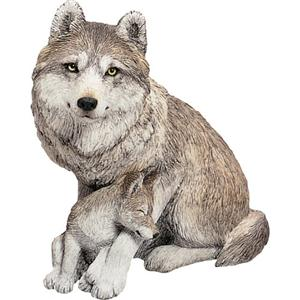 30% off right now on this beautifully sweet Wolf figurine.