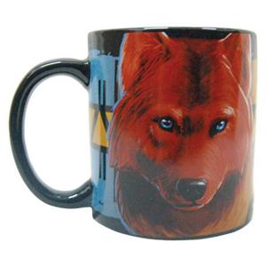 This is a gorgeous new Wolf Mug.