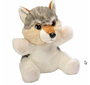 How cute is this new Wolf puppet?