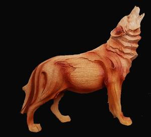 New, very detailed and solid Wolf Figurine.