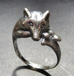 New and really a nice piece of unisex Wolf jewelry.