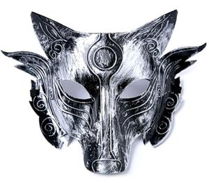This wolf mask is very well made and sturdy.