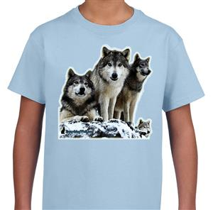 This shirt features four of our wonderful Wolves.