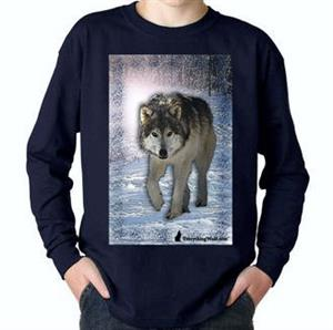Make your young Wolf lover happy with this tee.