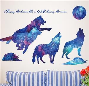 These are removable Wall decals.  Wonderful graphics!