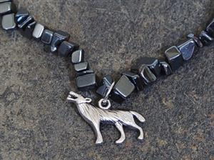 Unique piece of Wolf Jewelry