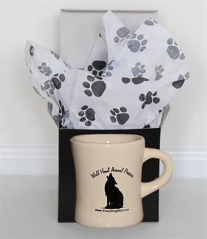 Comes in a Black Gift Box with Pawprint tissue paper