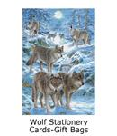 wolf greeting cards and stationary